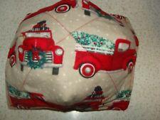 Microwave Bowl Holder Little Red Truck Christmas Tree Cozy /Kozy Cove Potholder