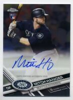 2017 Topps Chrome MITCH HANIGER Rookie Card RC AUTO AUTOGRAPH Seattle Mariners