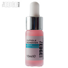 The Edge Nails 10ml Cuticle Remover Serum With Dropper Contains Vitamin A/E/B5