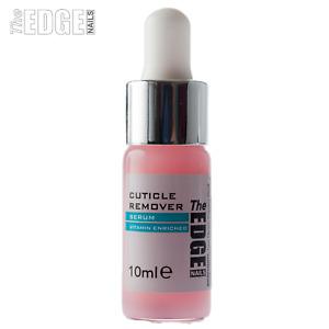 The Edge Nails 10ml Cuticle Remover Serum With Dropper Contains Vitamin A/E/B5