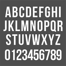 Iron on Numbers & Letters