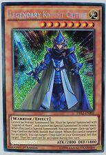 YuGiOh Legendary Knight Critias DRL2-EN002 Secret Rare 1st Edition