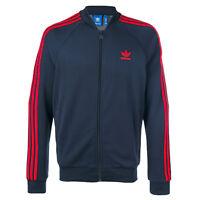 "Adidas Originals Superstar Track Top Tp "" Firebird Suit Jacket Navy Red"