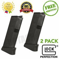 Glock G43 - 9mm 6 Round w/ Extension Pistol Magazine - 2PACK