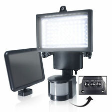 Bright LED Solar Powered Sensor Security Flood Light Motion Outdoor Garden Lamp