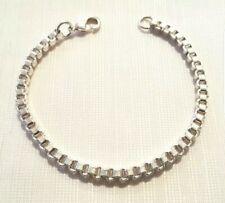 Box chain  bracelet (8 inches)