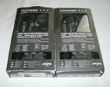 2 Wired Ifrogz Flexwing Earbuds (Black)