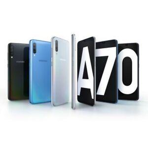 "Samsung Galaxy A70 Dual SIM Unlocked Android Smartphone 128GB 6.7"" 32MP Grade B"