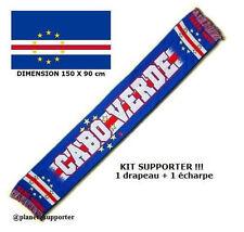ECHARPE + DRAPEAU CAP VERT maillot fahne flag scarf schal sciarpa bufanda ...