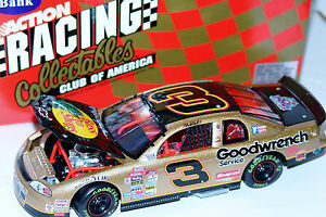 98 Dale Earnhardt #3 Bass Pro Shops Goodwrench Monte Carlo 1:24 Action RCCA Bank