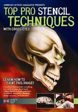 Top Pro Stencil Airbrush Paint Techniques DVD with Cross-Eyed by Airbrush Action