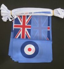 RAF ENSIGN FLAG BUNTING - Polyester 9m (30ft) (32 flags)