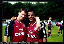 Paulo Sergio Super AK Foto Bayern München 2001-02 (8) Orig. Signiert