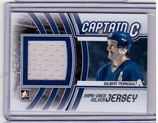 GILBERT PERREAULT 11/12 ITG Captain C SILVER Game-Used Jersey Buffalo Sabres #19