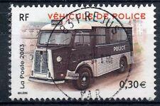 TIMBRE FRANCE OBLITERE N° 3616 VEHICULE DE POLICE  / Photo non contractuelle