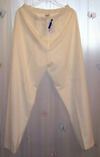 AILEEN TOO White Knit PANTS Plus Size XS ~ NWT