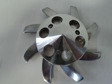 GM Aluminum Alternator Fan & Pulley Set SBC BBC Chevy Olds Pontiac 327 350 454