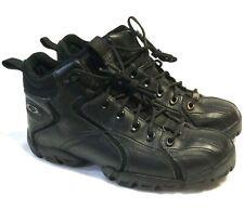 RARE OAKLEY FLAK BOOTS Size 10 Black Leather Waterproof Tactical Field Gear