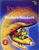 Grade 2 Journeys Readers Notebook Volume 2 Student Edition 2017 2nd