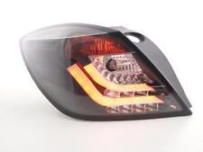 Coppia Fari Fanali Posteriori Tuning LED LTI Opel Astra H GTC 04-08 nero