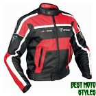 Racer GP équipe Hommes Blouson moto touring - Rouge Noir