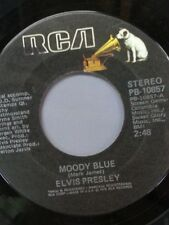 "ELVIS PRESLEY 45 RPM ""Moody Blue"" ""She Thinks I Still Care"" VG+ condition"