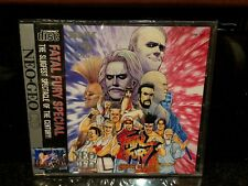 NEW OLD STOCK COMPLETE ENGLISH COPY Fatal Fury Special Neo Geo CD & CDZ AES MVS