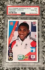 2012 Panini London ANTHONY JOSHUA #96 Rookie PSA 10 Gem Mint!