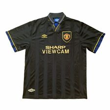 1993 95 Manchester United Away Football Shirt - Xl Classic Original Authentic
