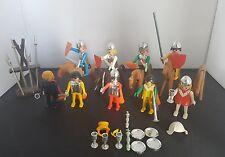 Figuras Vintage De Playmobil Caballero, caballos y accesorios, década de 1970, juguetes, Hobby