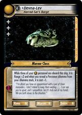 Star Trek CCG 2E What You Leave Behind Devna-Lev, Harrad-Sar's Barge 14R119