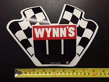 "Vintage - Decal/Sticker - Wynn's  - 9"""