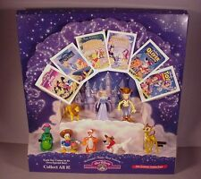 1995 McDonald's Happy Meal Disney Masterpiece Movie store display w/ 8 toys