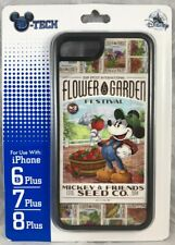 Disney DTech iPhone 6s 7 8 Plus Case Mickey 2019 Passholder Epcot Flower Garden