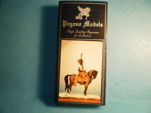 PEGASO MODELS CAPTAIN MANHES AID-DE-CAMP OF MURAT  8/2/1807 54-501 54MM 1/32 .