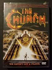 The Church w/ Insert (DVD, 2002) Dario Argento 1988 Horror Anchor Bay RARE OOP