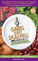 Buch Gabel statt Skalpell von Gene Stone (2013, Taschenbuch) Ernährung vegan TOP