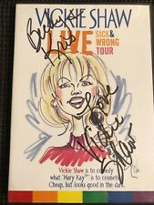 Vickie Shaw Live Sick and Wrong Tour DVD - Best Lesbian Comic –NEW & SIGNED!