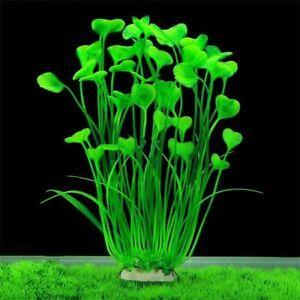 Aquarium Plants Plastic Artificial Fish Tank Floating Large Decorations Tall PVC