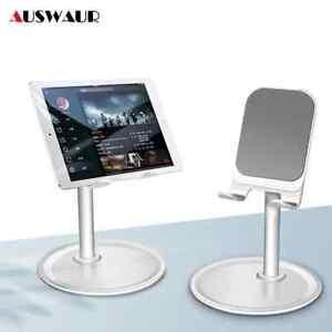 Adjustable Desk Phone ipad PC Tablet Stand Holder Desk Table Mount Aluminum