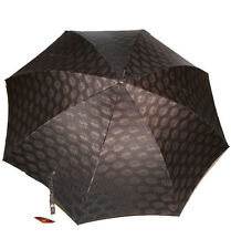 Prima Classe ombrello grande marrone scuro Alviero Martini