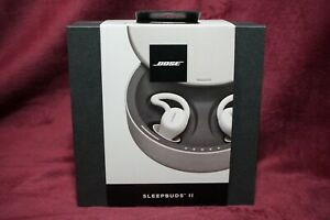 Bose Sleepbuds II Wireless In-Ear Noise Masking Earbuds  White  Brand New