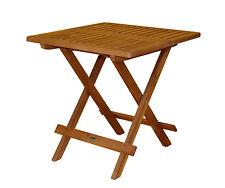 Klapptisch 50x50 Holztisch Gartentisch Terrassentisch Tisch Balkon Terrasse