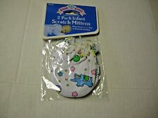 Scratch Mittens,Boy, 2 Pack,Circus & Sports Print By Baby King,0-6 Mos, New