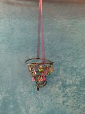 """Fun Whimsical """"Doodle-Bops� Made From Vintage Bed Springs. Charms & Bells! Cute!"""