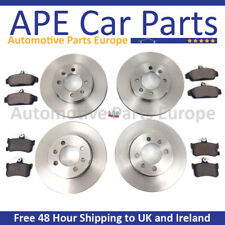 Renault Clio MK3 1.6 VVT 2005-2012 Front Rear Brake Discs and Pads OEM Quality