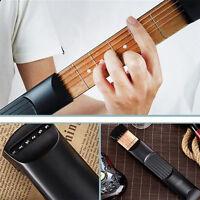 6 Fret Portable Pocket Guitar Practice Tool Gadget Guitar Beginner Chord Trainer