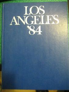 LIBRO: LOS ANGELES ' 84 SPORT  OLIMPIADI