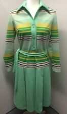 Vtg Hay Pence Authentic 1970s Dress Rare Beautiful Size 10 Made In USA