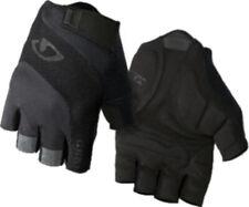 Short Finger Cycling Gloves Giro Bravo Gel Road Mitts Black
